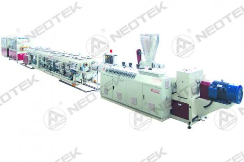 Extrusion Line Of Double-Cavity PVC Pipes