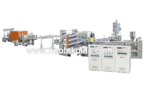 ABS、PP、 PS anti-static plastic sheet production line