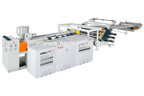 PC, PMMA, PS, MS Board Extrusion Line