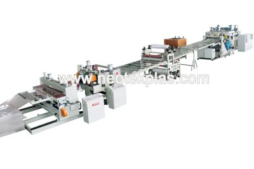 PMMA Coated Lenses Sheet Production Line