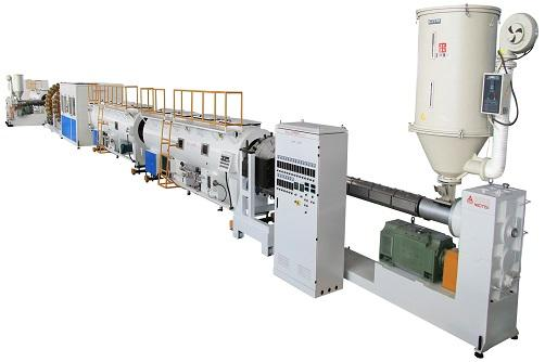 Steel Wire Reinforced (Twisted)  Pipe Production line