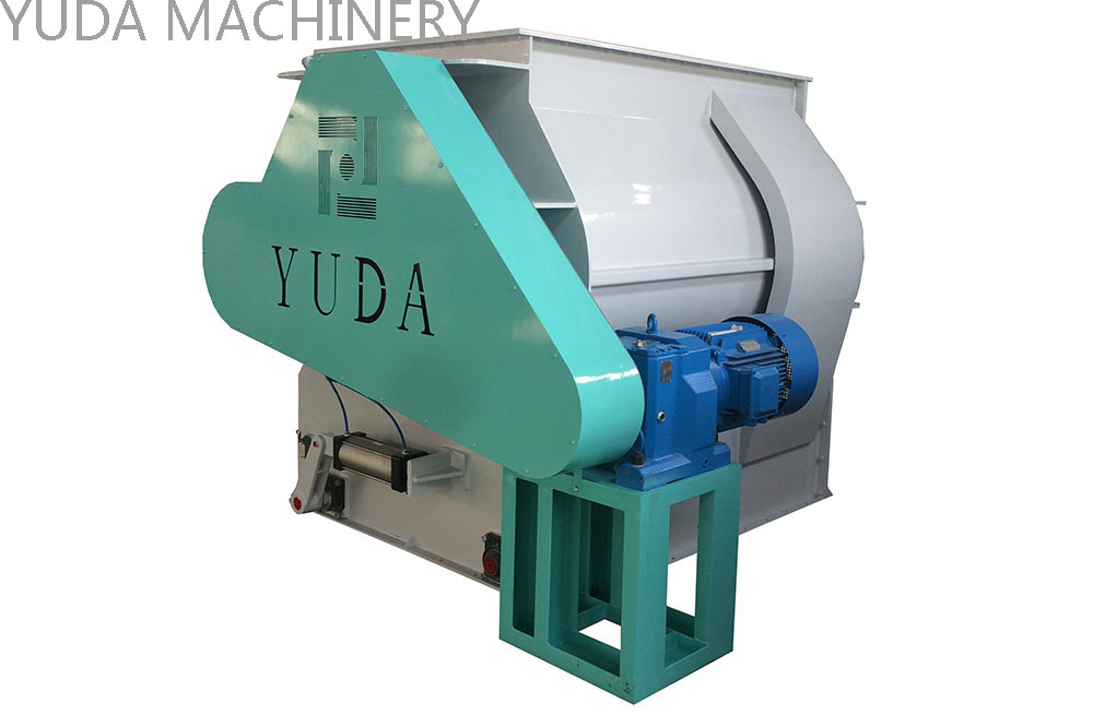 SSHJ Series Double-Shaft Paddle Mixer