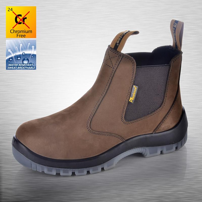 Защитная обувь без шнурков