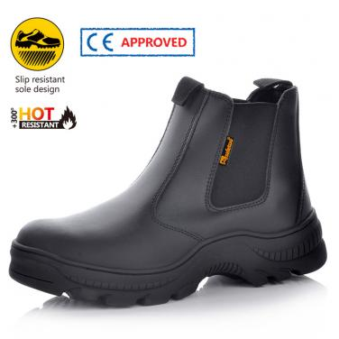 HRO safety shoe without laces M-8025