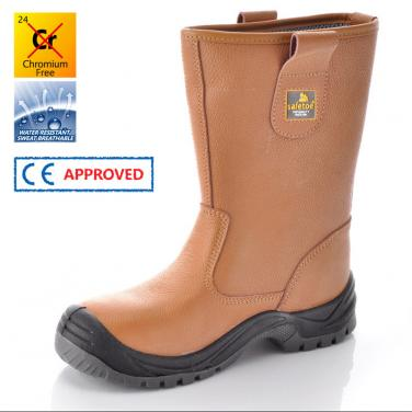 Safety Boots H-9001 Brown