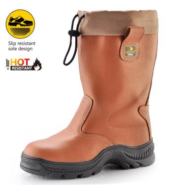 HRO high safety boots H-9246 Brown
