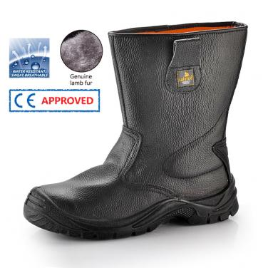 Winter Safety Boots H-9001