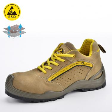 Safety shoe for summer yellow L-7296Yellow