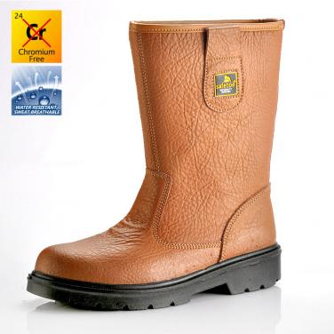 Safety boots brown H-9430