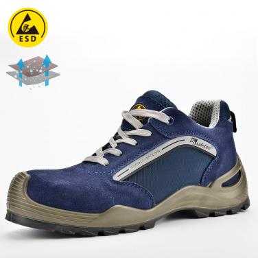 Safety shoe for summer L-7296Blue