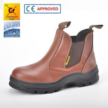 M-8025  Коричные защитные обуви Резина-пропитка