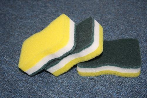 Abrasive Scouring Pad Sponge