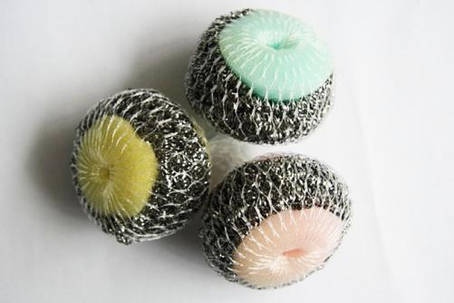 Steel Wire Sponge Cleaning Ball