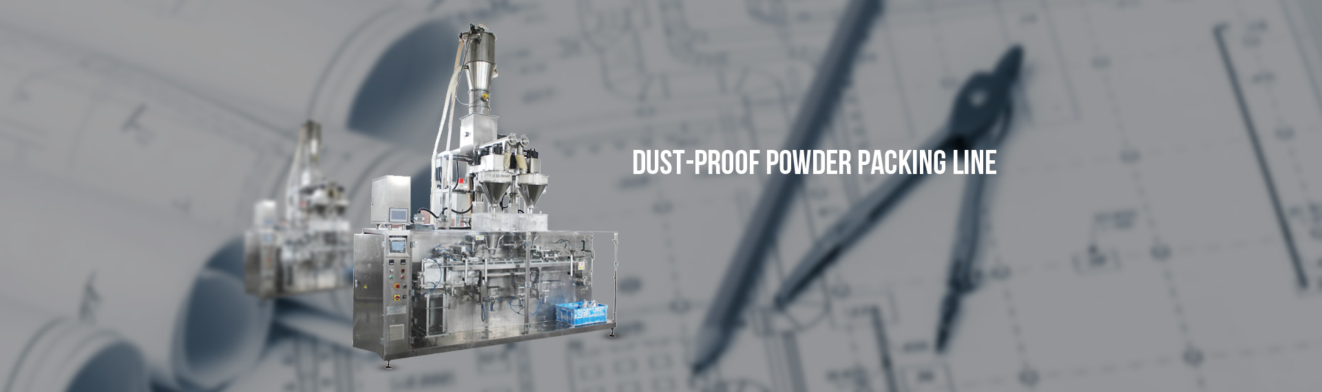 powder puch packing line