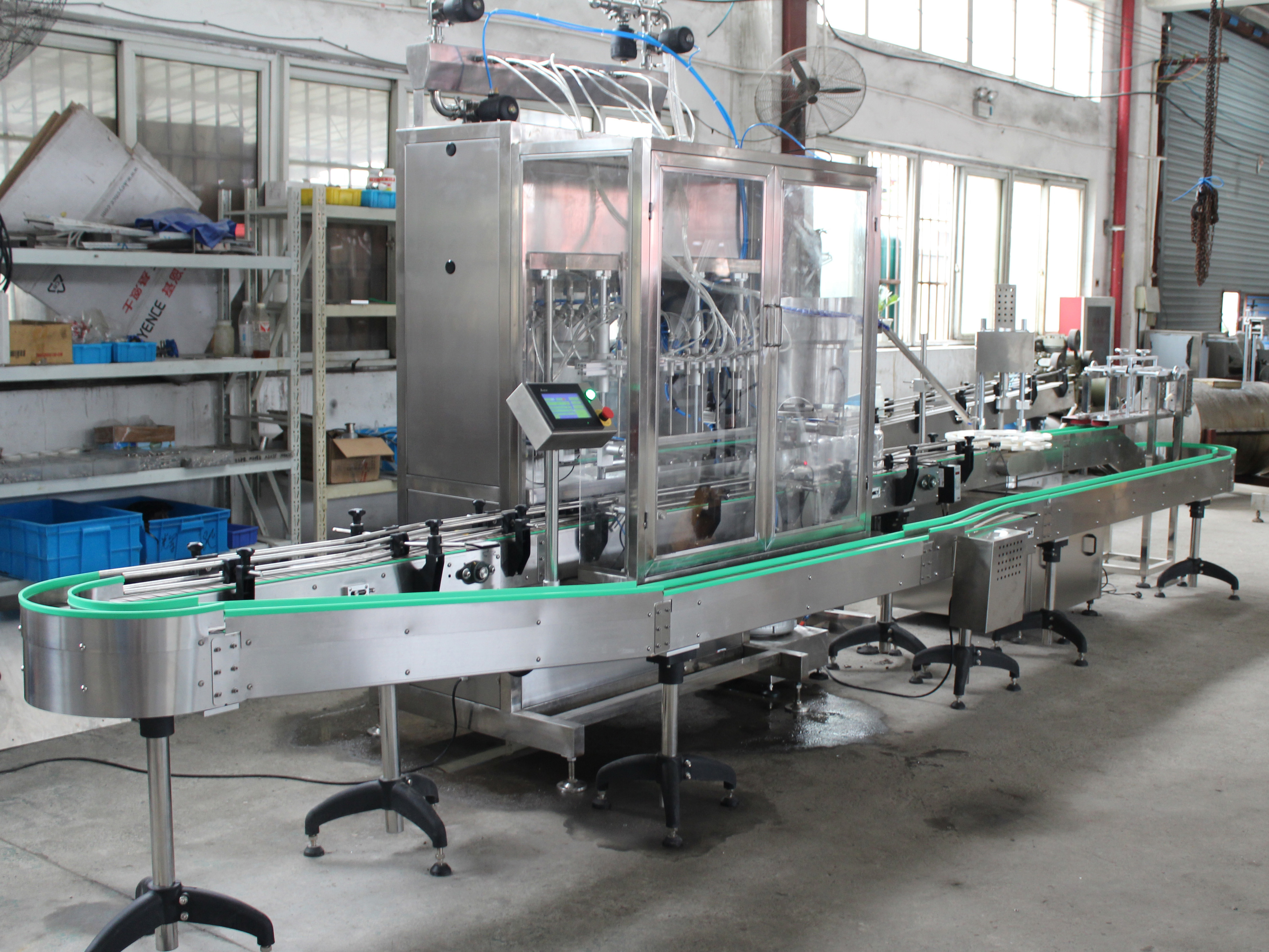 Automatic Filling Line For Sale | Grepack
