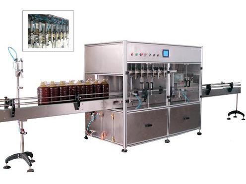 Flowmeter filling machine