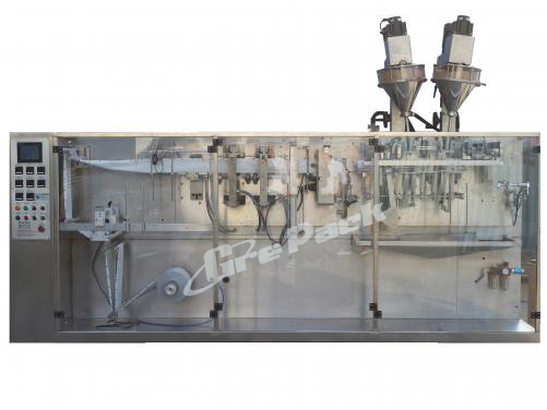 Horizontal Twin Link Pouch Packing Machine