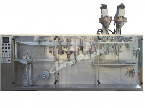 Horizontal Duplex Pouch Packing Machine
