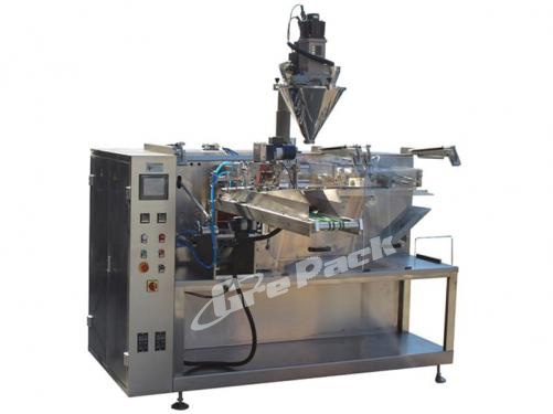 Premade stand up pouch packing machine