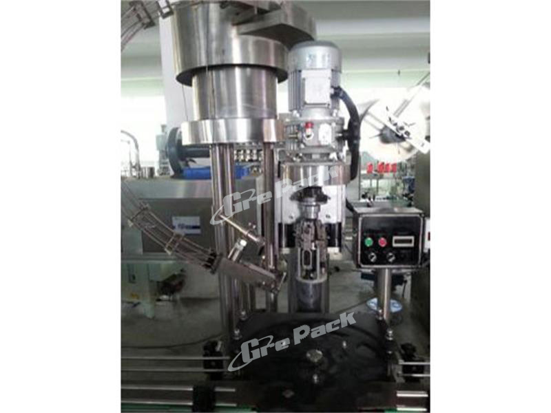 Metal cap aluminum capping machine