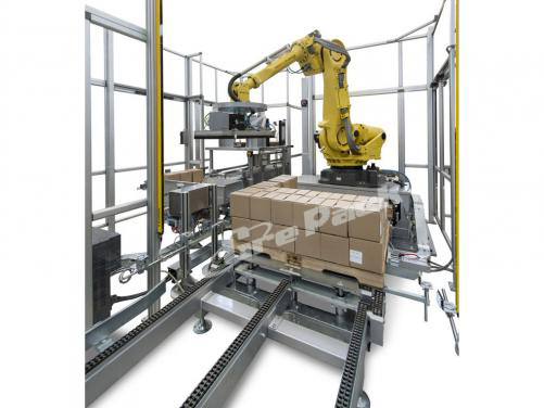 Palletizer machine