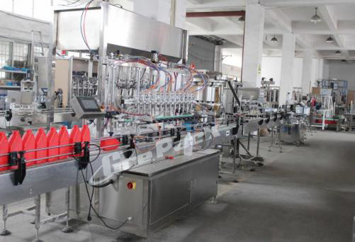 GP-5600 lubricant oil filling line