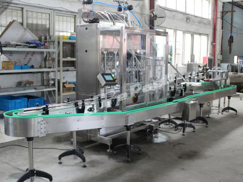 GP-5600 automatic lotion liquid filling line