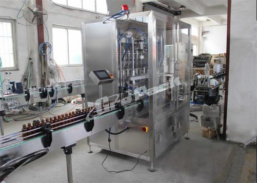 GP-5600 automatic cough syrup filling line