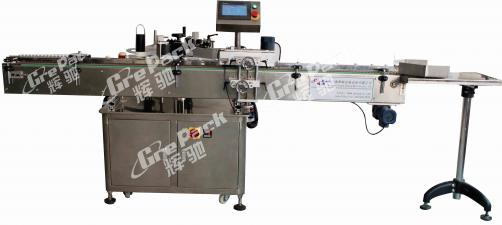 LM-300 vertical high speed sticker round bottle labeling machine