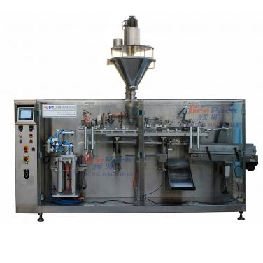 Premade retort/ spout doypack pouch packing machine