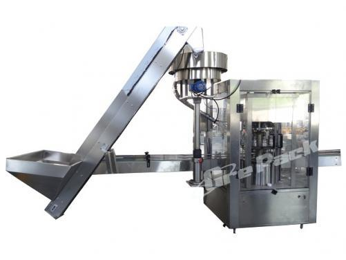 XC-6 automatically rotary screw capping machine