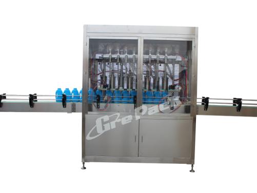 GP-5600 automatic lotion liquid filling line