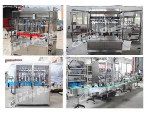 GP-5600 laundry liquid filling line