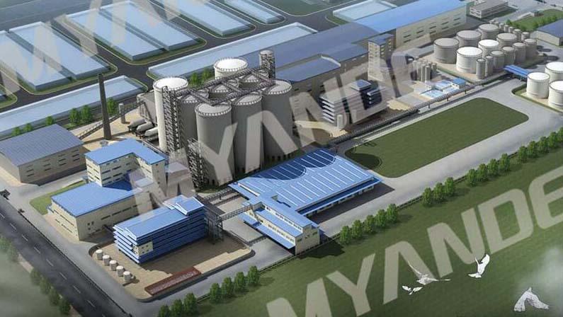 1500 T / D فول الصويا و سحق المشروع في الهند الذي تقوم به Myande