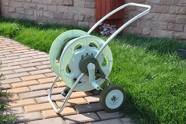 Garden Hose Reel Cart Set