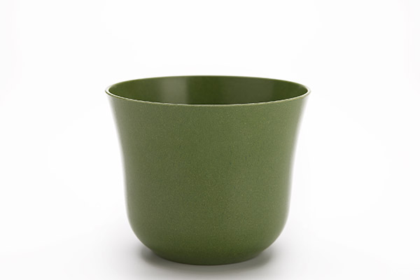 Bamboo Fibre Rounded Flower Pot
