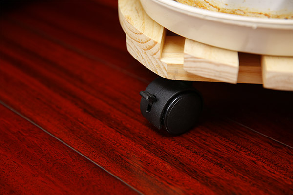 """12"""" Rounded Wooden Dolly"""