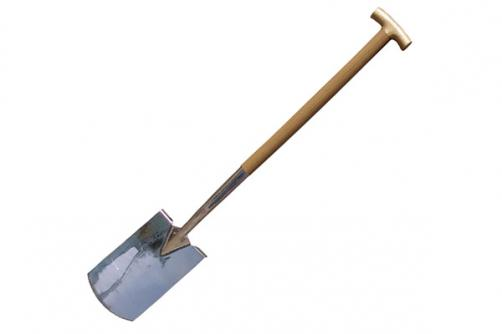 Steel Handle Square Shovel