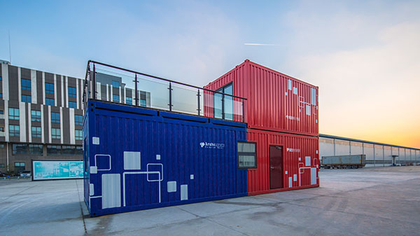 Mining  Camp  Container  Building  in  Canada
