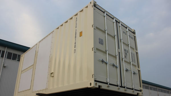 CAT Power Generator Container