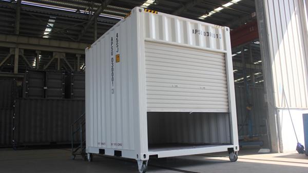 10'brattice container