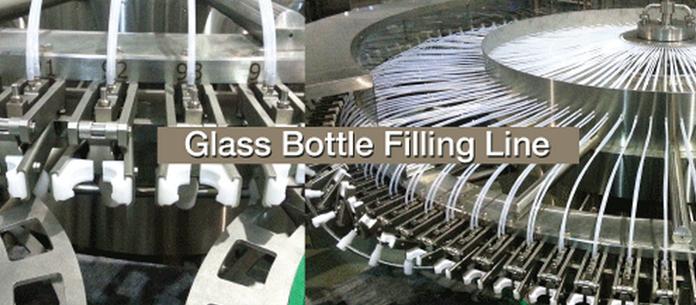保立隆成功交付康师傅吴江工厂400bpm玻璃瓶生产线