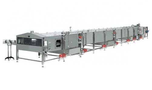 隧道式温瓶机-喷淋冷却机