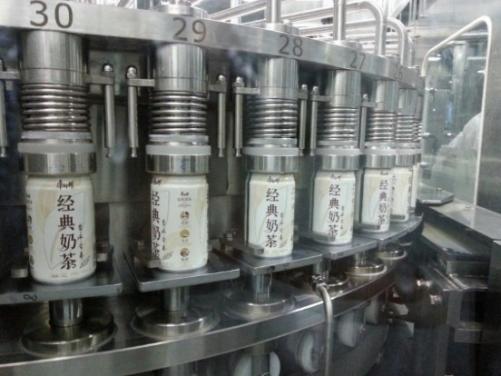 易拉罐机械阀灌装机组