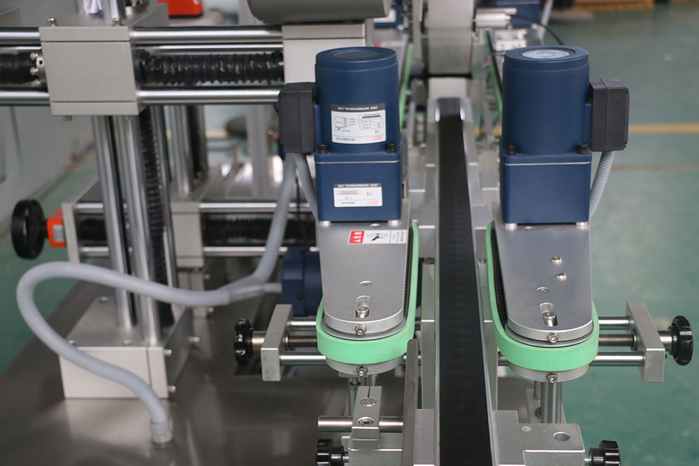 Bags Top & Bottom Labeling Machine