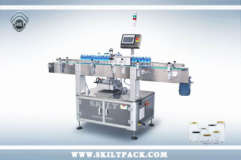 Round Cans Labeling Machine