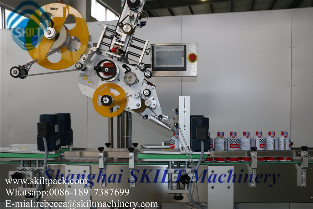 Top&corner labeling machine