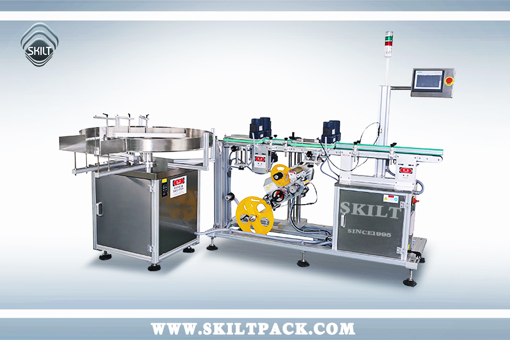 Bottle Bottom Labeling machine