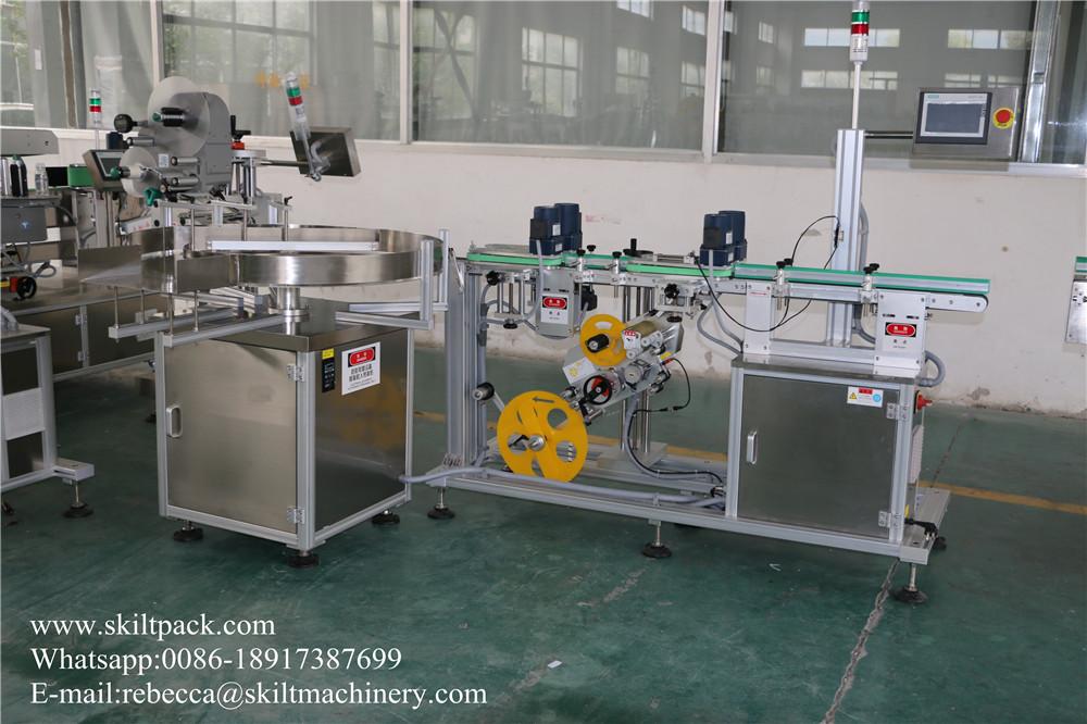 Bottle Bottom Labeling machine