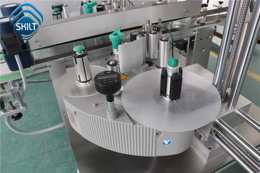 Pill Box Corner Labeling Machine